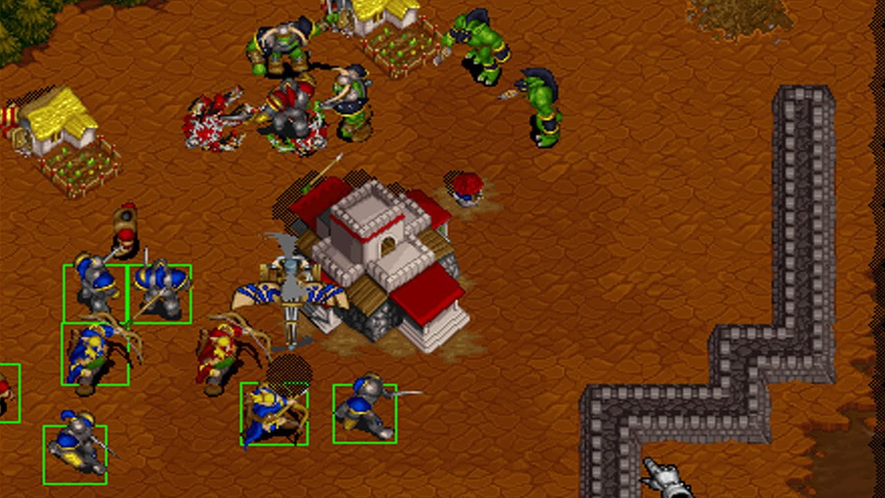Warcraft II Tides of Darkness statistics player count facts